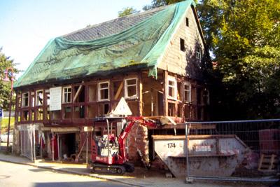 Sanierung Fachwerkhaus Von 1788 Www Saechsischer